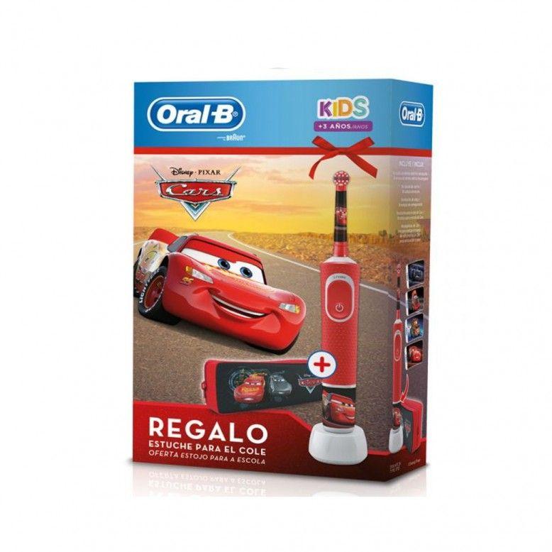 Oral-B Kids Escova Elétrica Disney Cars + Estojo