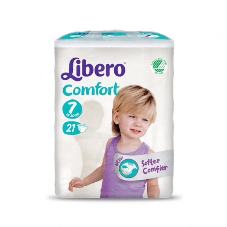 Libero Fraldas Comfort Fit T7 16-26Kg x21