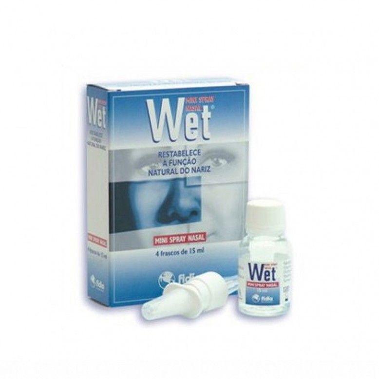 Wet Mini Spray Nasal 4x15ml