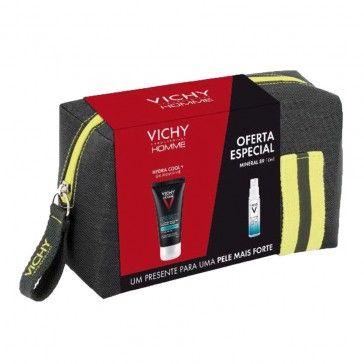 Vichy Homme Bolsa Hydra Cool+ Gel 50ml + Minéral 89 10ml