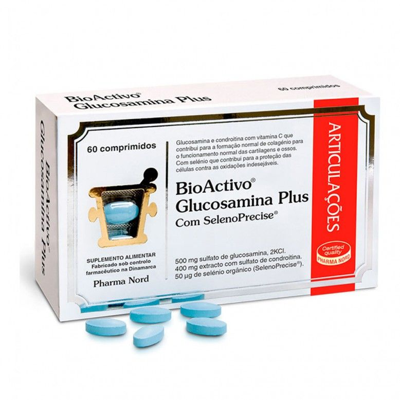 BioActivo Glucosamina Plus 60 Comprimidos