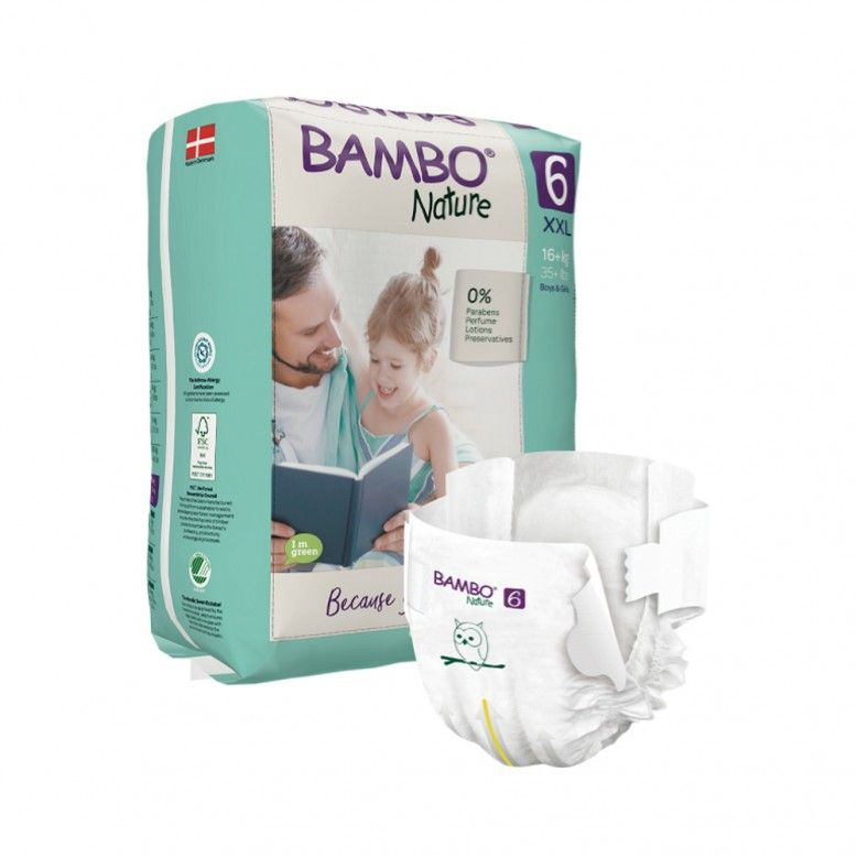 Bambo Nature 6 XXL +16kg x40