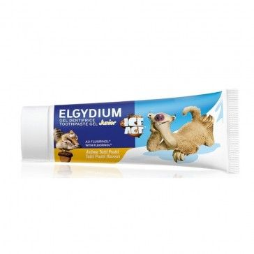 Elgydium Kids Gel Dentífrico Tutti-Fruti Idade do Gelo 50ml