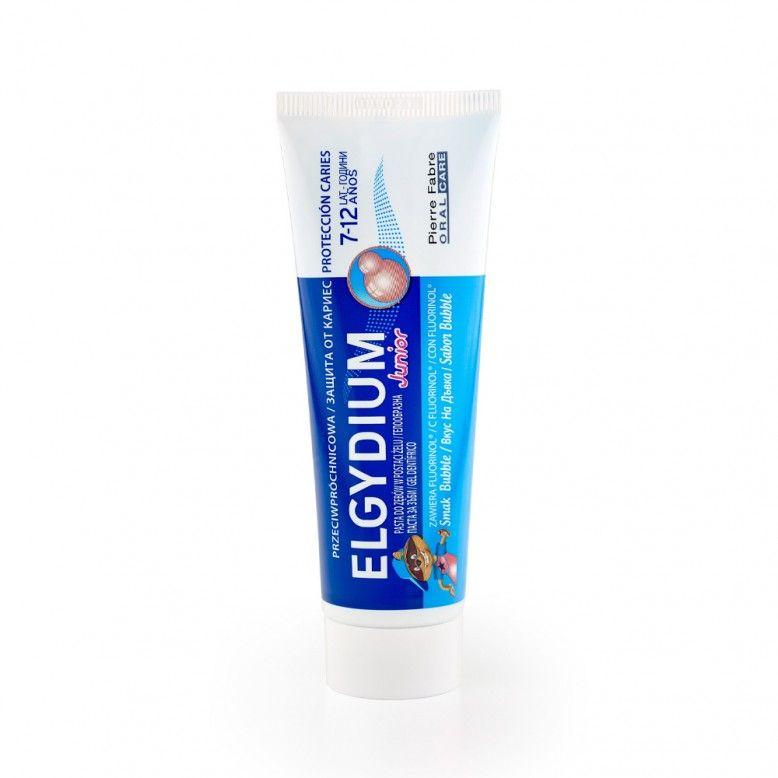 Elgydium Gel Dentífrico Junior Bubble 7-12A 50ml