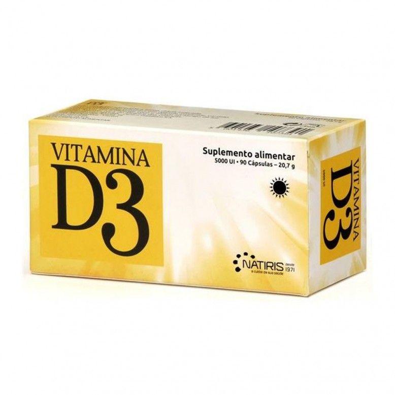 Vitamina D3 1000 UI 90 Cápsulas