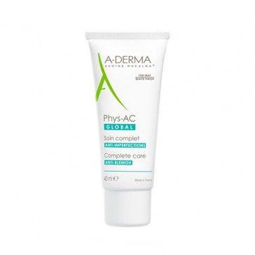 A-Derma Phys-AC Global Creme Anti-imperfeições 40ml