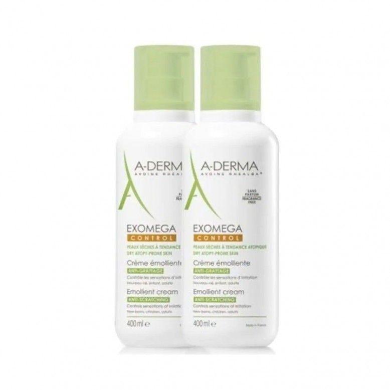 A-Derma Exomega Control Creme Emoliente 2x400ml