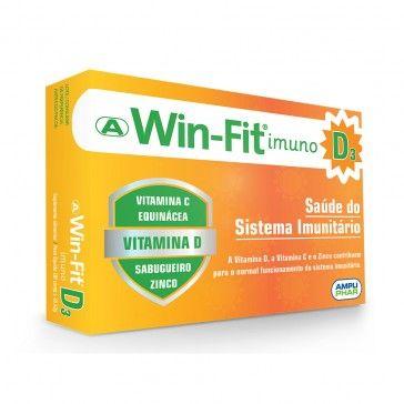 Win-Fit Imuno D3 30 Comprimidos