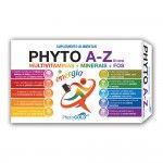 PhytoGOLD Phyto A-Z Multivitaminas + Minerais 30 Comprimidos