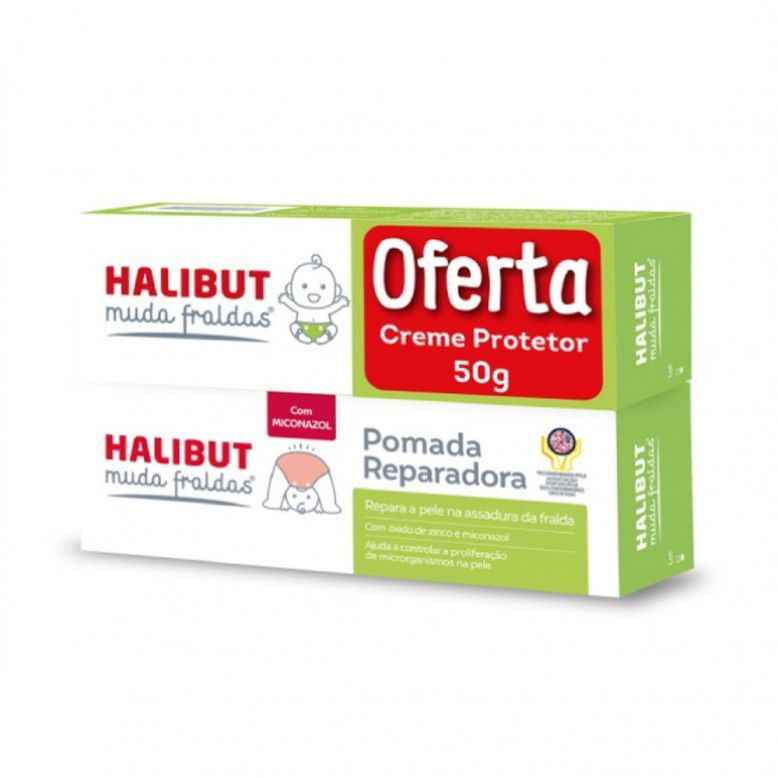 Halibut Changer Protective Cream DUO 2x150g