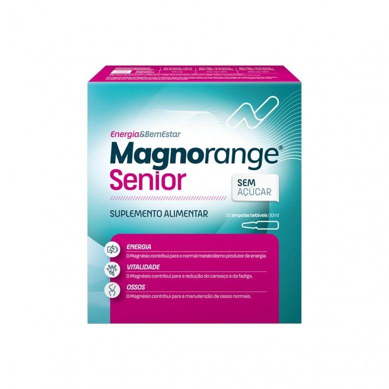 Magnorange Senior 10ml 20 Ampolas