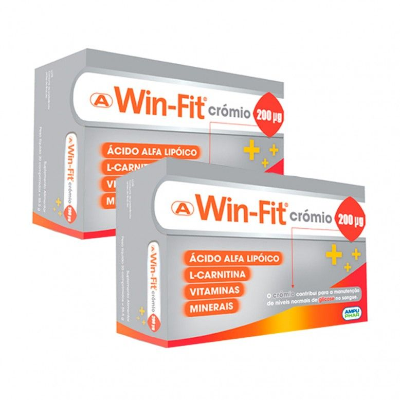 Win-Fit Crómio Duo 2x30 Comprimidos