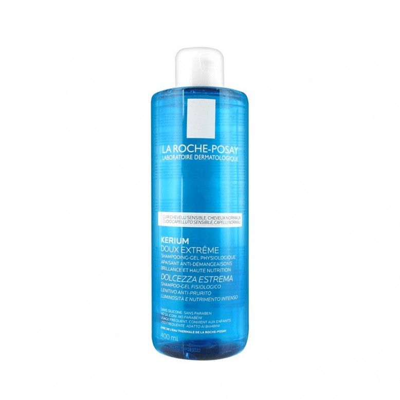 La Roche-Posay Kerium Shampoo Gel Suavidade Extrema 400ml