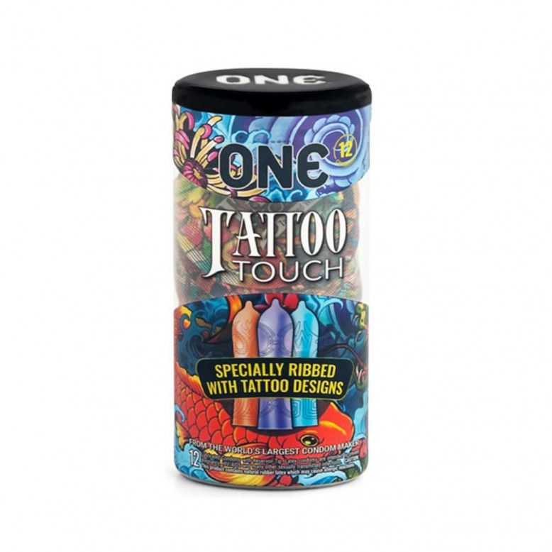 ONE Tattoo Touch Preservativos x12