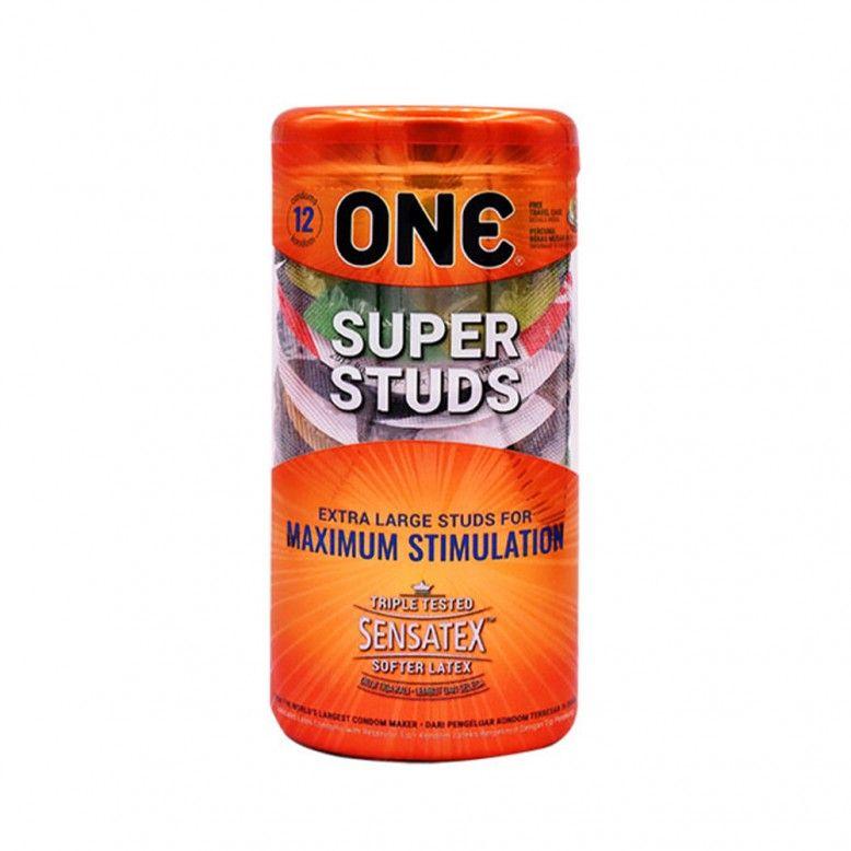 ONE Super Studs Preservativos x12