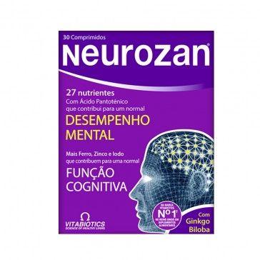 Neurozan Desempenho Mental 30 Cápsulas