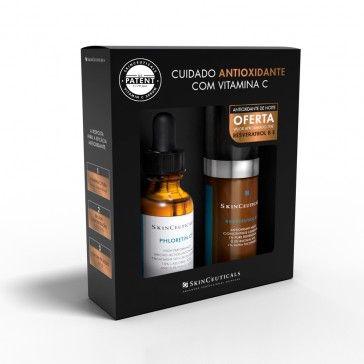 SkinCeuticals Prevent Phloretin CF Serum 30ml + Resveratrol BE Serum 15ml