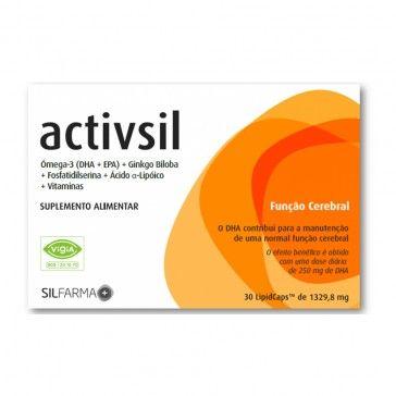 Activisil Lipid 30 Cápsulas