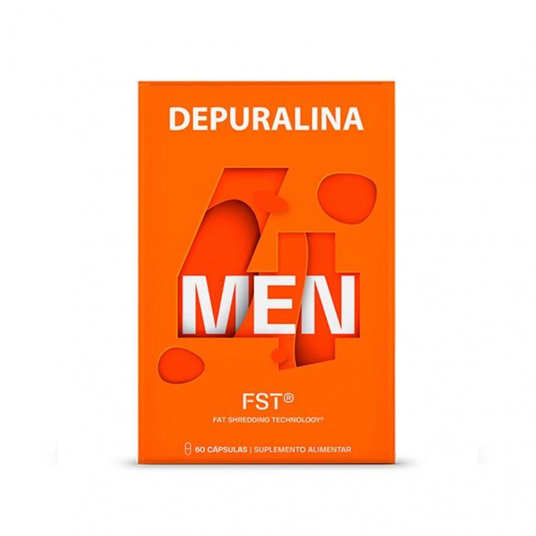 Depuralina 4 Men 60 Cápsulas