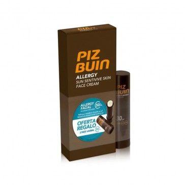 Piz Buin Allergy Creme Rosto SPF50+ 50ml + Stick Labial SPF30