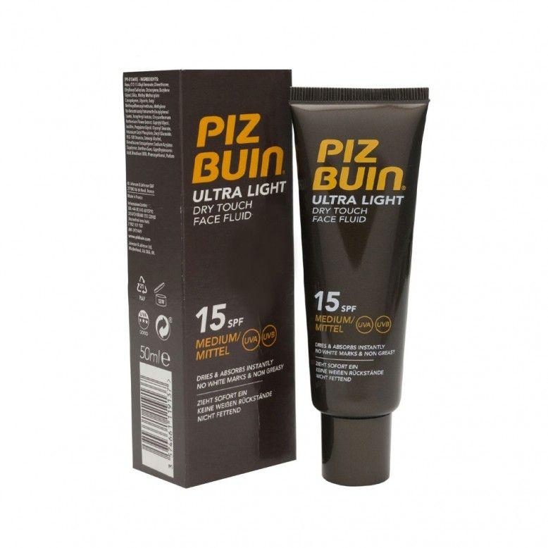Piz Buin Ultra Light Dry Touch Fluido SPF15 150ml