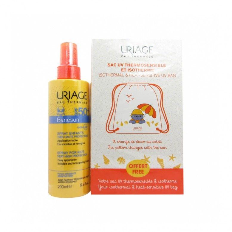 Uriage Bariésun Spray Infantil SPF50+ 200ml + Mochila