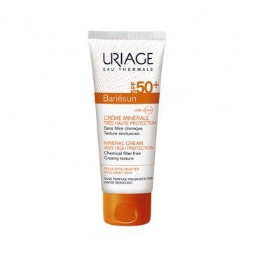 Uriage Bariésun Creme Mineral SPF50+ 100ml