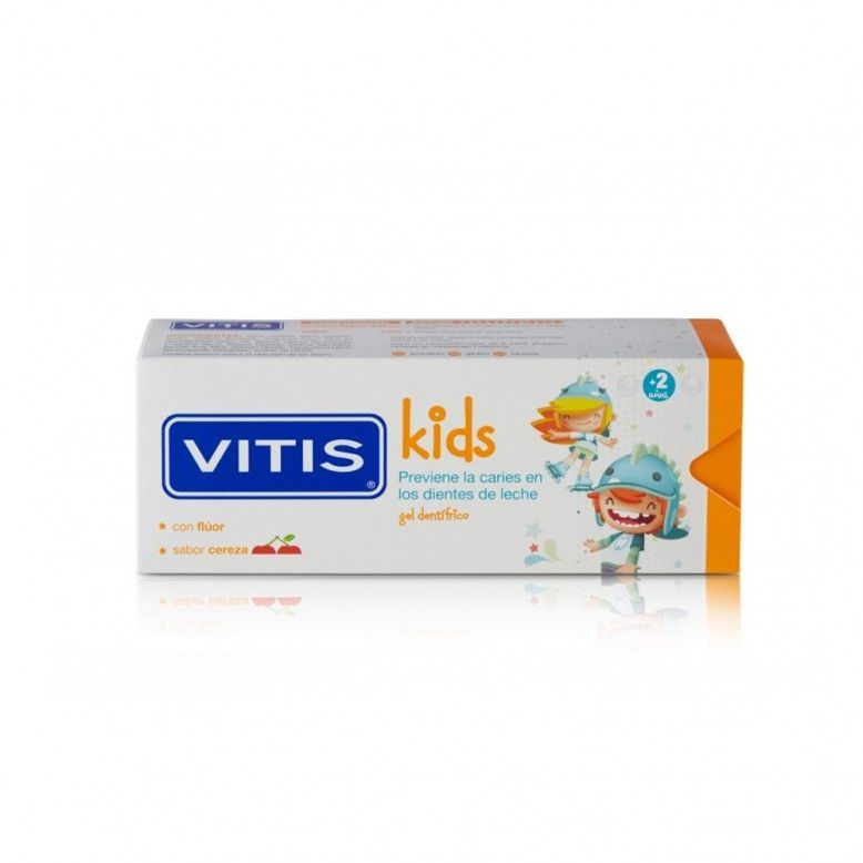 Vitis Kids Gel Dentífrico Cereja 50ml