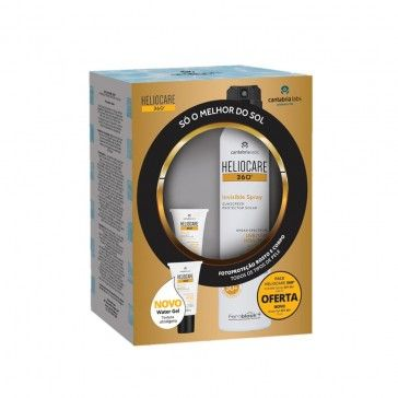 Heliocare Pack InvisIble Spray SPF50 200ml + Water Gel SPF50 + 15ml