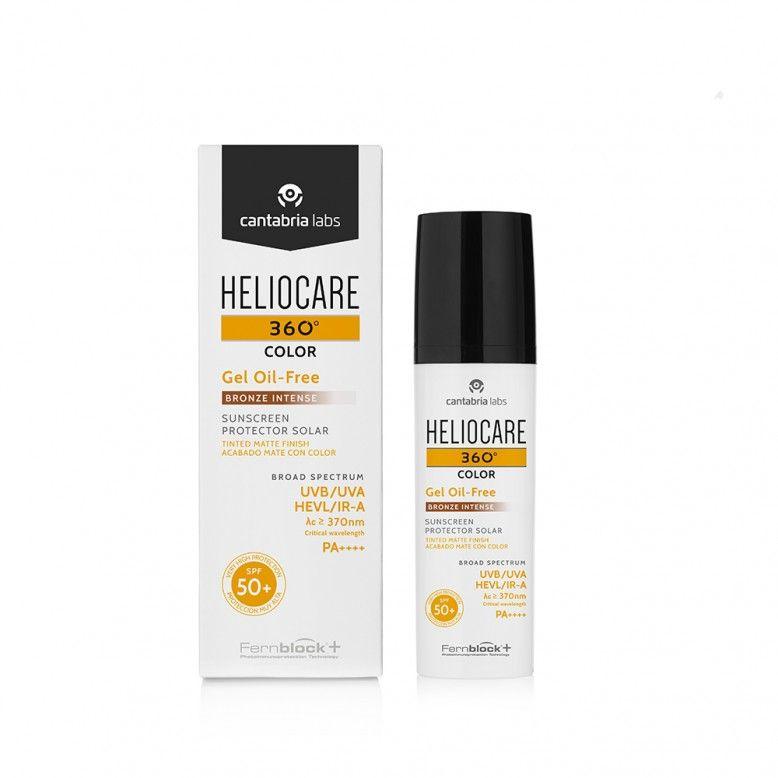 Heliocare 360 Color Gel Oil-Free Bronze Intense SPF50+ 50ml