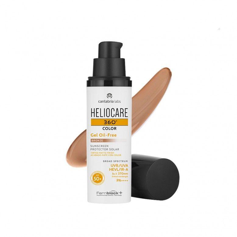 Heliocare 360 Color Gel Oil-Free Bronze SPF50+ 50ml