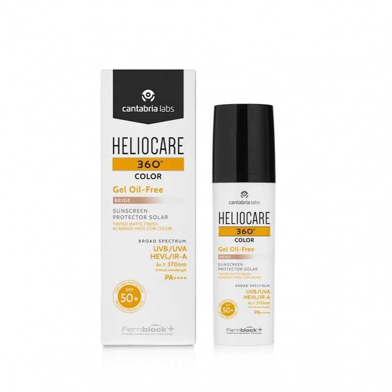 Heliocare 360 Color Gel Oil-Free Beige SPF50+ 50ml