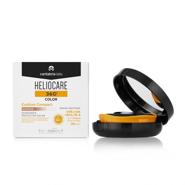 Heliocare 360 Color Cushion Compact Bronze SPF50+ 15g