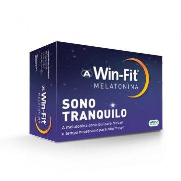 Win-Fit Melatonina 60 Comprimidos Mastigáveis