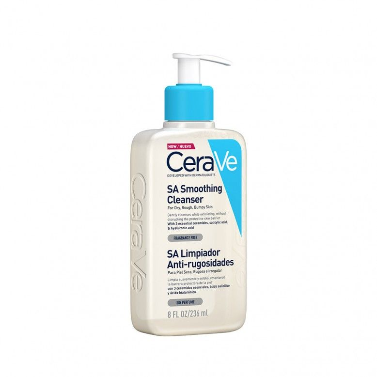 CeraVe SA Smoothing Cleanser Anti-Roughness Cleaner 236ml