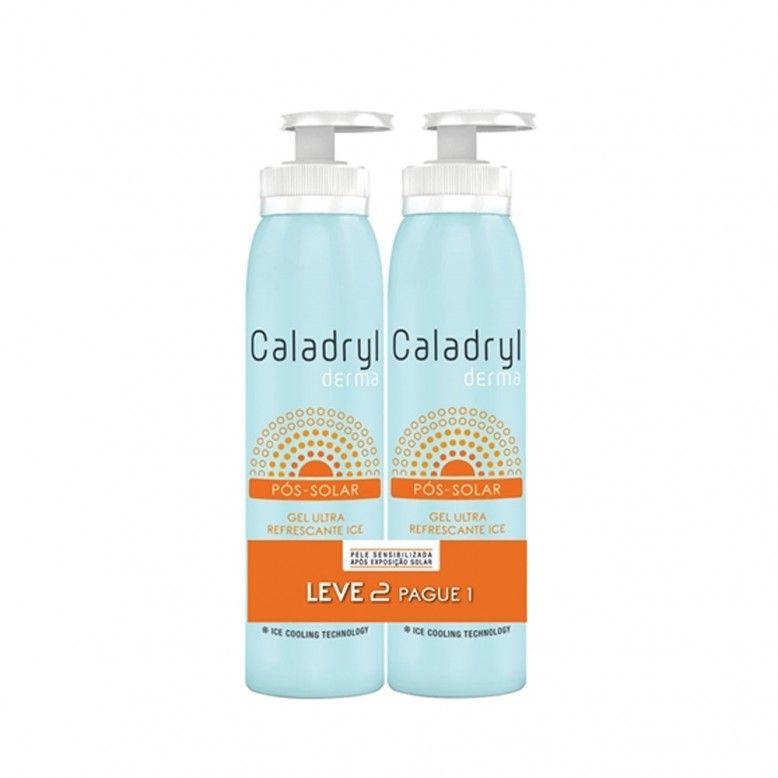 Caladryl Derma Ice Gel Ultra Refrescante Pós-Solar 2x150ml