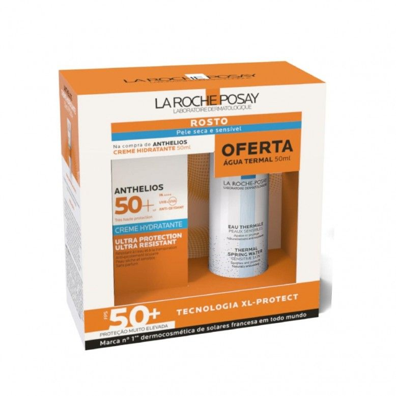 La Roche-Posay Anthelios Pack Ultra Moisturizing Cream SPF50+ 50ml + Thermal Water 50ml