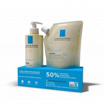 La Roche-Posay Lipikar AP Lavante Oil+ 400ml + Refill 400ml