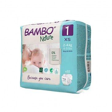 Bambo Nature 1 XS 2-4kg x22