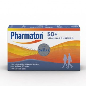 Pharmaton 50+ 30 capsules