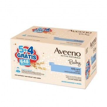 Aveeno Baby Pack Toalhitas Limpeza 9x72