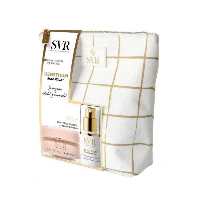 SVR Densitium Pack Creme Rose Éclat 50ml + Creme Contorno de Olhos 15ml