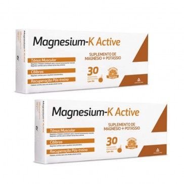 Magnesium-K Active 2x30 Comprimidos Efervescentes