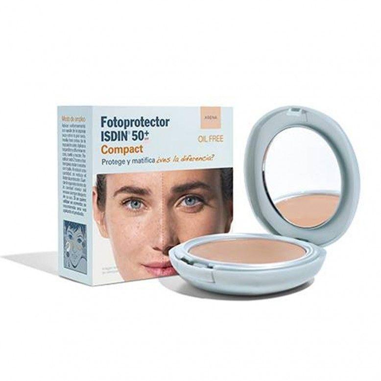 ISDIN Fotoprotetor Compacto Tom Areia SPF50+ 10g