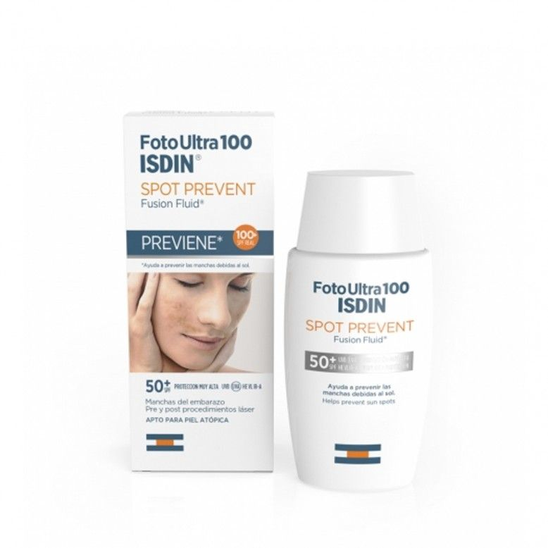ISDIN FotoUltra 100 Active Unify Color Fusion Fluid SPF50+ 50ml