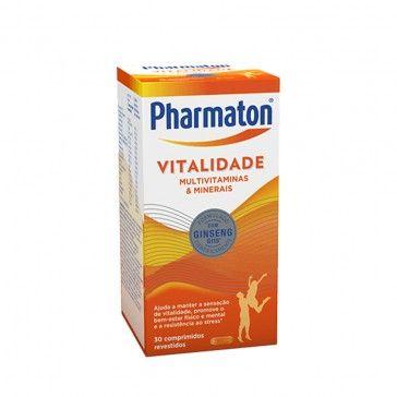 Pharmaton Vitality 30 Coated Pills
