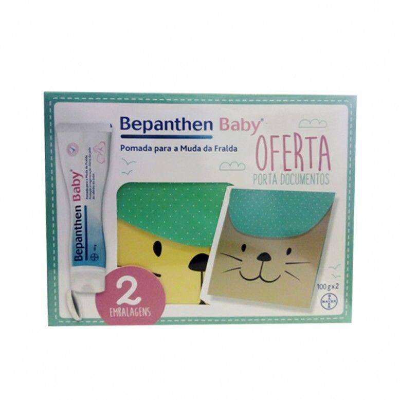 Bepanthene Pack Pomada Muda Fralda 2x100ml + Babete