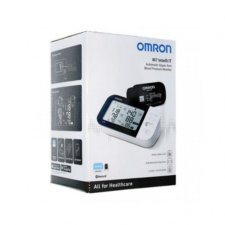 Omron Digital M7 Intelli IT Medidor de Tensão