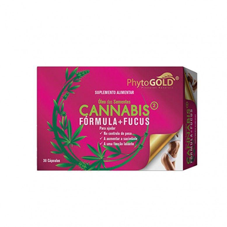 PhytoGold Cannabis Formula + Fucus 30 Cápsulas