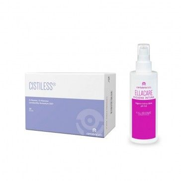Cistiless 20 Sticks + Ellacare Higiene Íntima Diária 75ml